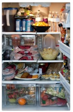 pun frižider hrane