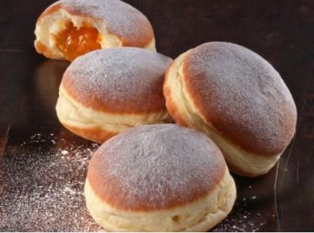 Pekara Dubravica: Krafna s marmeladom