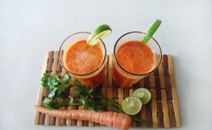 smoothie mrkva